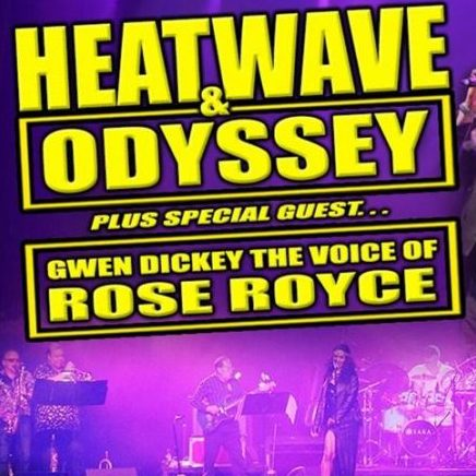 May 4th 2019 – Disco Inferno – Heatwave & Gwen Dickey at The Lakeside Club, Frimley Green