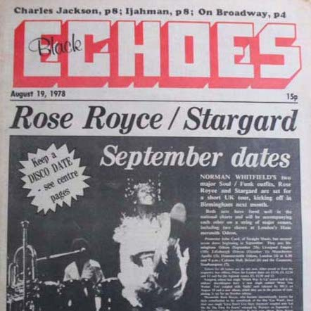 From 'Echoes' magazine August 1978…